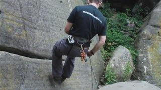 This video tutorial shows you the equipment you will need to abseil. Get climbing safely with this guide from a top climbing instructor.Watch This and Other Related films here: http://www.videojug.com/film/how-to-abseilSubscribe! http://www.youtube.com/subscription_center?add_user=videojugsportCheck Out Our Channel Page: http://www.youtube.com/user/videojugsportLike Us On Facebook! https://www.facebook.com/videojugFollow Us On Twitter! http://www.twitter.com/videojug