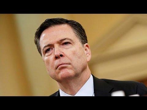 Η κατάθεση του Τζέιμς Κόμεϊ, πρώην διευθυντή του FBI στην επιτροπή πληροφοριών της αμερικανικής…