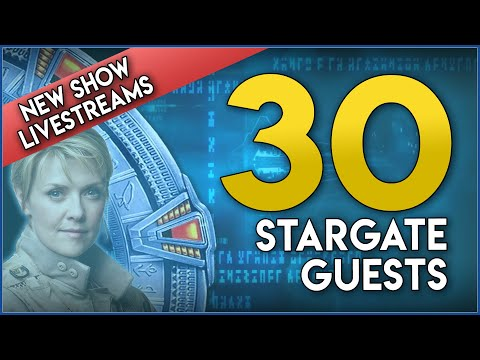 "These 30 Stargate Stars Are Coming To ""Dial the Gate!"""