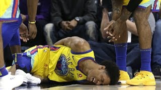 Video The WORST NBA Injuries 2017-2018 (GOOSEBUMPS WARNING) MP3, 3GP, MP4, WEBM, AVI, FLV Maret 2019