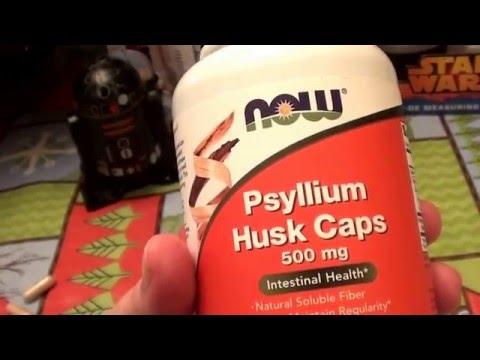NOW Foods Psyllium Husk Caps -- 500 mg - 500 Capsules