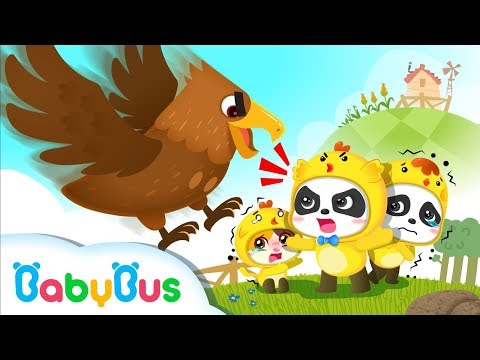 Bad Eagle Wanna Catch Little Chicks | Number Song | Learn Colors, Ice Cream | Kids Song | BabyBus