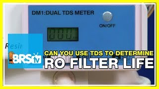 FAQ #18: Can I use TDS as an indicator for when to change my RO/DI filters? | 52 FAQ