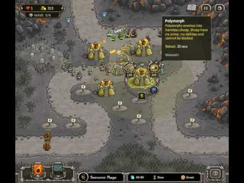Kingdom Rush - Level 10 (Heroic Challenge) - The Wastes