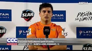 Superliga Sudamericana de Rugby - Fecha 4