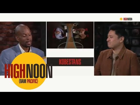 Will LeBron James Be Able To Win Over The Hardcore Kobe Bryant Fans? | High Noon | ESPN