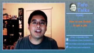 Tafo Tips: How to Use Smash to Get a Job