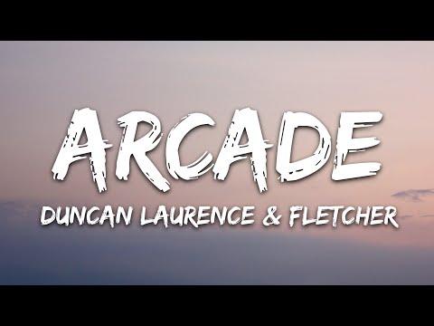 Duncan Laurence - Arcade (Lyrics) ft. FLETCHER