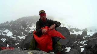 Спальный мешок для зимнего туризма и альпинизма. Alexika Delta