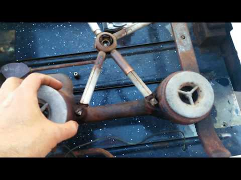 Antique Stove Conversion - Adjusting Dual Gas Orifices