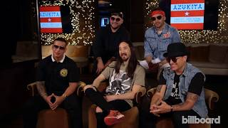 Steve Aoki, Daddy Yankee, Play-N-Skillz & Elvis Crespo Talk Collaborative Track