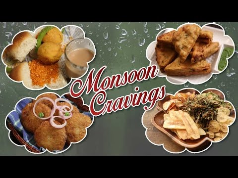 Monsoon Cravings | Quick And Easy Monsoon Special Recipes | Rajshri Food