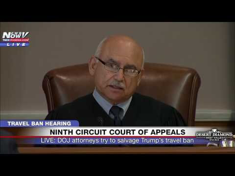 WATCH: Trump Travel Ban Debated - Ninth Circuit Court of Appeals Hearing in Seattle (5/15/17) FNN
