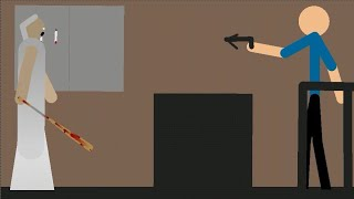 Granny (with new update) - Stick Nodes Horror Animation