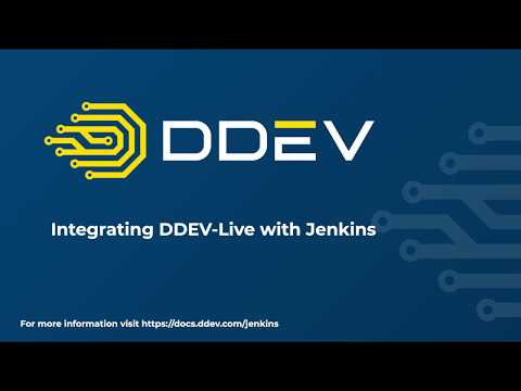 Demo of DDEV-Live and Jenkins