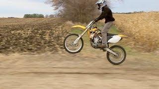 8. Yamaha YZ450F Cruising