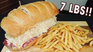 Undefeated Corned Beef Brisket Deli Sandwich Challenge!!
