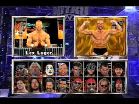 Wcw Nitro Playstation