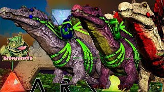 ARK: SURVIVAL EVOLVED: ALPHA TRIBE ! EP 53 TAMED THEM ALL EPIC SPINO DAY