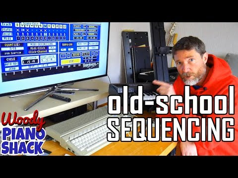 Atari 520 ST, Steinberg Pro 24 and Roland D20 | Old-school midi-sequencing FTW!