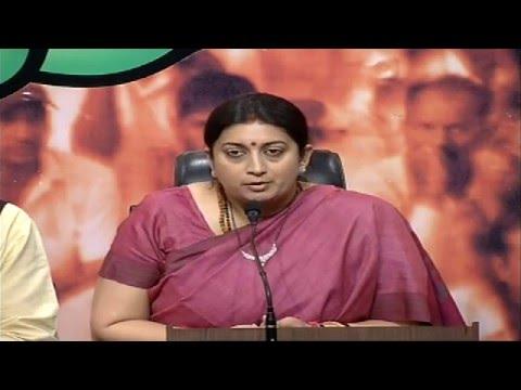 Shri Chandra Kumar Bose will be the candidate against CM Mamata Banerjee- Smt Smriti Irani