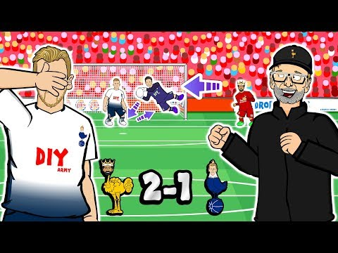 😲2-1! Liverpool vs Spurs: the Silent Movie!😲 (Parody Goals Highlights 2019)