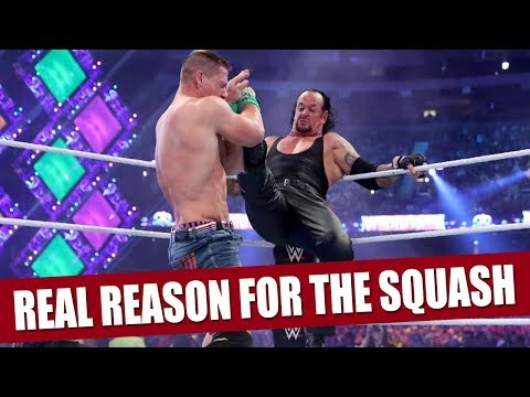 The Real Reason Why The Undertaker Beat John Cena in Only 2 Minutes!