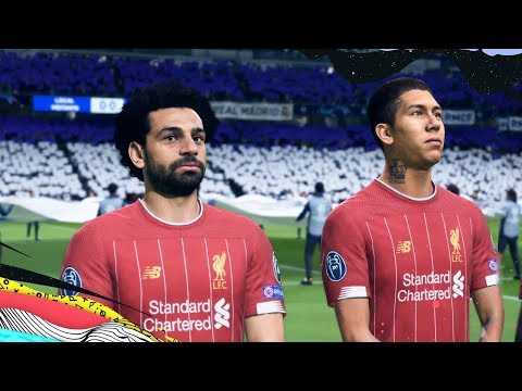 FIFA 20 | Liverpool vs Real Madrid | UEFA Champions League | - PS4 Pro
