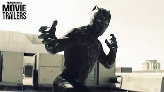 Black Panther and Bucky battle it out in a NEW Clip from Captain Ameri