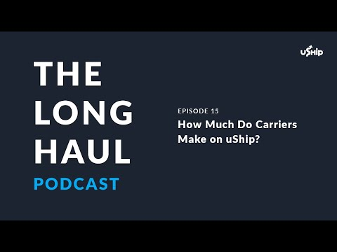 How Much Do Carriers Make on uShip?