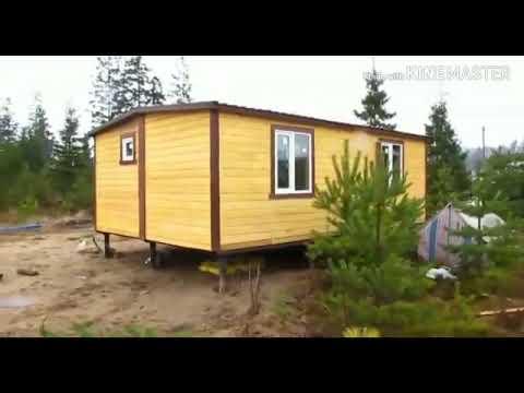 Видеообзор деревянного каркасного дома 4,6 х 7,0 м