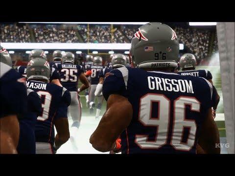 Madden NFL 19 - New England Patriots vs Philadelphia Eagles - Gameplay (HD) [1080p60FPS]