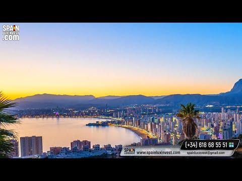 Элитная вилла с видом на море и г. Бенидорм/Недвижимость в Испании/Виллы, дома Премиум, Люкс-класса