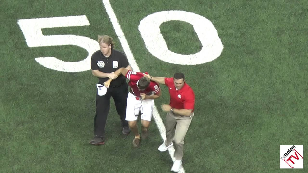 Foolish Ohio State Fan Wins Best Football Tackle Award