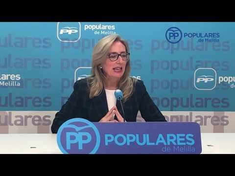 """Dueñas: """"Vemos una vez más, que Melilla para el PSOE no cuenta"""""""
