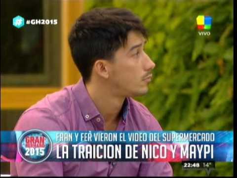 Fernando y Francisco se enteraron del engaño de Maypi y Nico1