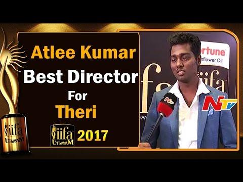 Atlee Kumar || Best Director Award for Theri Movie @ IIFA Utsavam || #IIFAUtsavam201