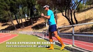 Flexión de cadera en gesto de carrera