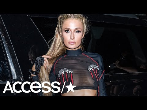 Paris Hilton Goes Full Throttle In A Racy Outfit At NYFW