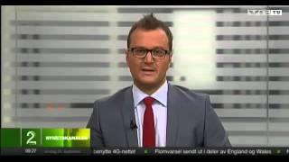 VGTV: Ove Hoff Kupper Nyhetssendingen