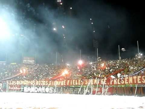 Barra del Caracas FC VS Mudos (caracas vs tachira 12 09 2010) - Los Demonios Rojos - Caracas