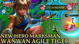 New Hero Wanwan Gameplay - Mobile Legends Bang Bang