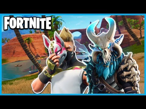 *EVERYTHING NEW* in FORTNITE SEASON 5! (ALL BATTLE PASS SKINS, NEW MAP POI's, TOYS, KARTS, EMOTES!