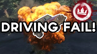 DRIVING FAIL! | H1Z1: King of the Kill (Funny Moments)