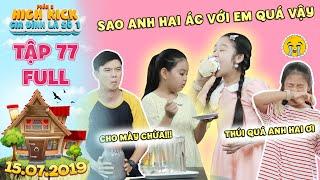 Video Gia đình là số 1 Phần 2|tập 77 full:Lam Chị bị Trạng Nguyên và Tâm Anh hợp sức chơi xấu bằng mắm tôm MP3, 3GP, MP4, WEBM, AVI, FLV Juli 2019