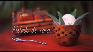 Cómo hacer helado de coco