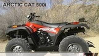6. ATV Television - 2002 Arctic Cat 500i Test