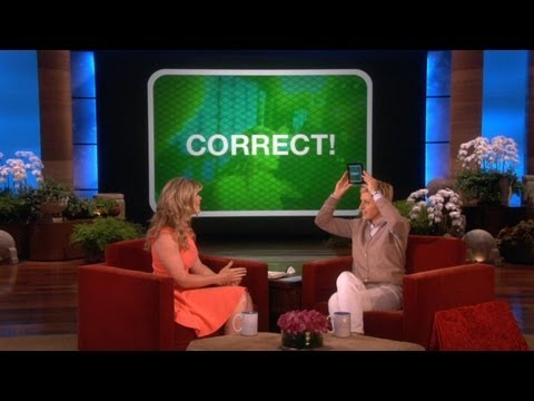new game - Ellen had a big announcement on her show: she has a brand new game that you can play at home!