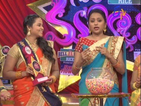 Star Mahila  17th October 2016  Full Episode  ETV Telugu