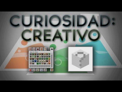 Curiosidades Minecraft, Cosas del creativo.